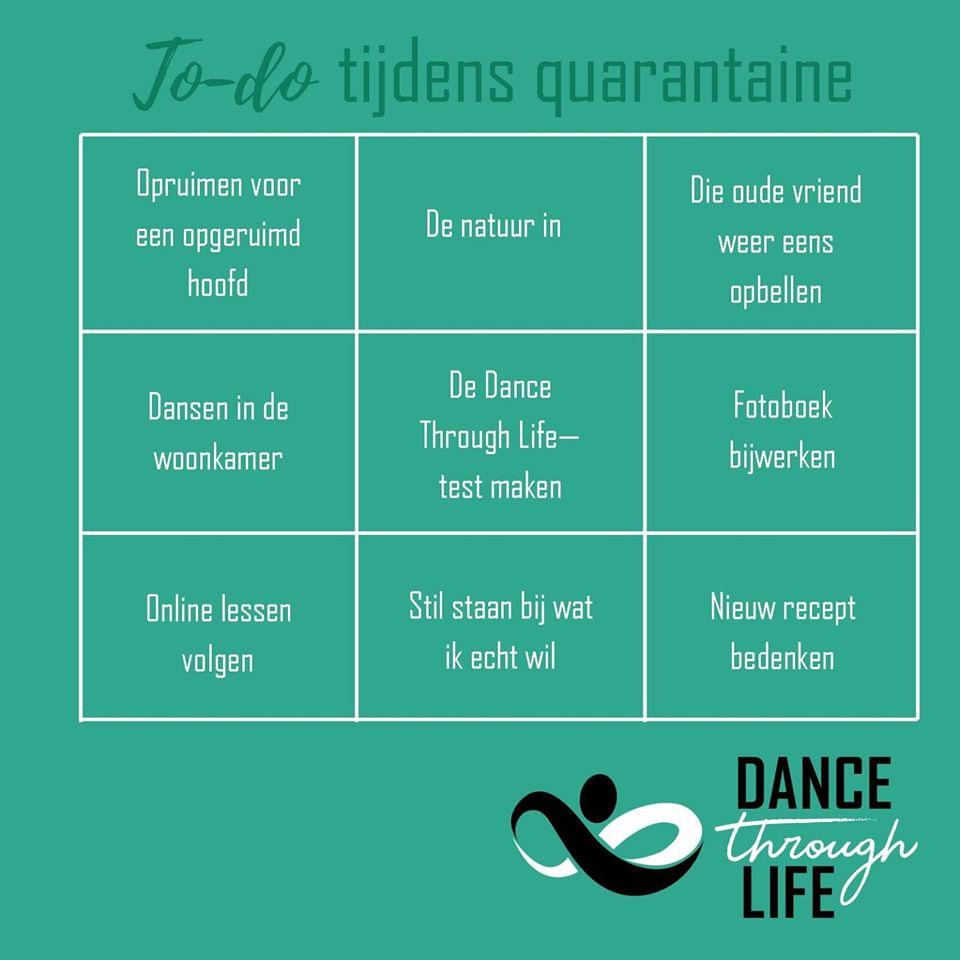 Quarantine - Dance Through Life