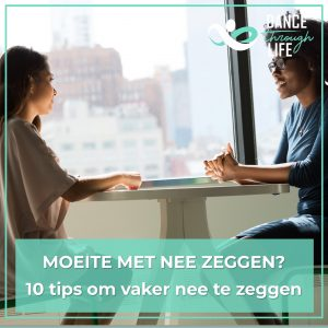 10 tips om vaker nee te zeggen
